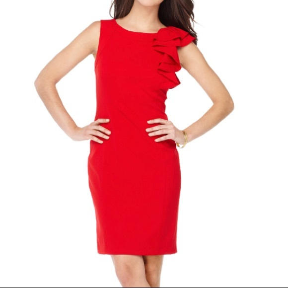Cheap Red Knee Length Dresses